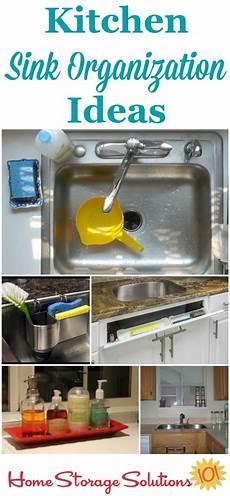 Kitchen Organization Meaning by Kitchen Sink Organization Ideas Storage Solutions