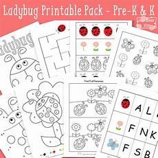 ladybug printable preschool and kindergarten itsy bitsy fun