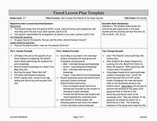best of differentiated instruction lesson plan template in
