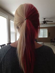 Half Hair Dye Ideas