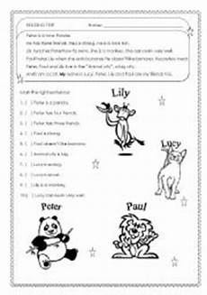 easy worksheets for beginners 19174 real beginners adults reading test for real beginners easy esl worksheet by procei