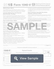 form 1040 v what is a 1040 v fill out online pdf
