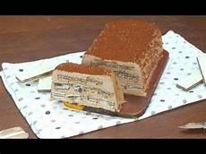 dolce con wafer tronchetto gelato con wafer il dessert estivo per i pi 249 golosi youtube