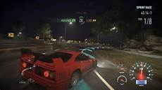 need for speed 2016 need for speed 2016 pc trial f40 gameplay w