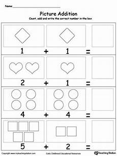 multiplication worksheets kindergarten 4454 adding numbers with shapes kindergarten math worksheets preschool worksheets kindergarten