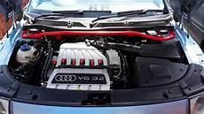 audi tt mk1 3 2 v6 engine clean