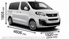 peugeot traveller dimensions dimensions of peugeot cars showing length width and height