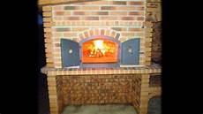 fabrication four a pizza en briques refractaire