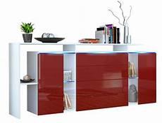 18 x sideboard wei 223 hochglanz inbegriff modernen wohnens