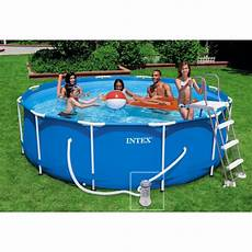 kit piscine tubulaire intex metal frame 3 66 x 0 99 m