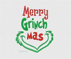 merry grinchmas the grinch christmas new year machine etsy