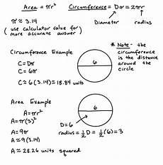 umfang kreis berechnen formel area and circumference of circles lesson algebra test helper