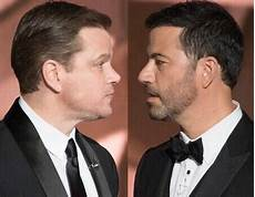matt damon jimmy kimmel jimmy kimmel and matt damon s feud just keeps getting