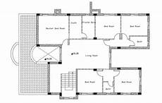 using autocad to draw house plans 2d house first floor plan autocad drawing cadbull