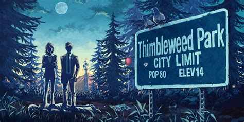 Thimbleweed Park Sewer Switch PART 7