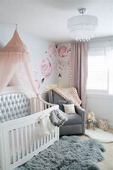 glamorous pink and gray nursery hope for the future