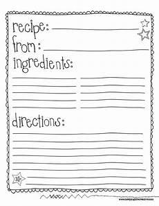 class recipe book template search recipe book