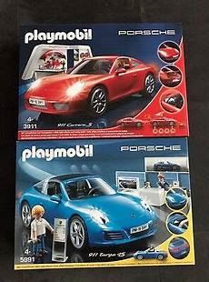 playmobil porsche 911 in blau 5991 rot 3911 neu eur