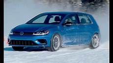 Vw Golf R 4motion In The Snow