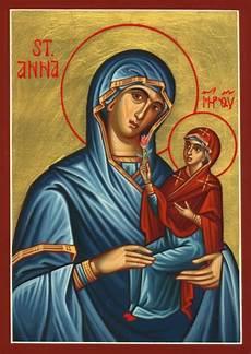 st anna handpainted icons saints