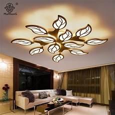Deckenleuchten Modern Design - ceiling lights modern leaf design acrylic led simple smart