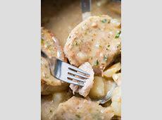 crock pot pork chops and scalloped potatoes
