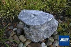 Garten Springbrunnen Aus Stein - gartenbrunnen springbrunnen ozeanfindling unikat slink