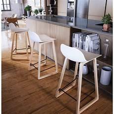 chaise pour ilot tabouret de bar chaise de bar mi hauteur scandinave