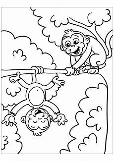 Malvorlagen Tiere Affen Free Monkey Coloring Pages Free Colouring Page For