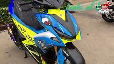 Aerox 155 Modif by Modifikasi Yamaha Aerox 155 Nvx 155 Modification Of