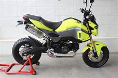 New 2017 Honda Grom Msx 125 Exhaust Systems Released By
