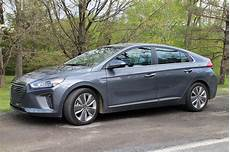 hyundai ioniq in hybrid 2017 hyundai ioniq hybrid gas mileage review