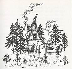 die kleine hexe hexenhaus children s book illustration