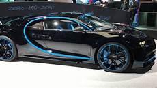 Bugatti Chiron Au Salon De Francfort