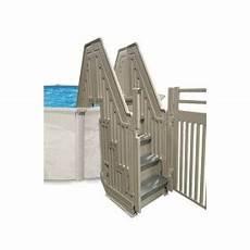 escalier bois piscine hors sol echelle gre montant inox pour piscine hors sol hauteur 132 cm