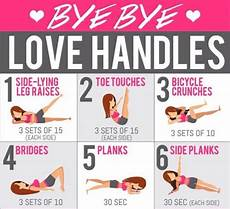 6 moves to get rid of love handles with images