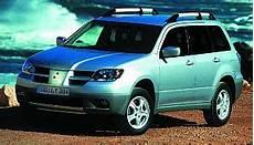 Mitsubishi Outlander 2003 2006 Motoren Varianten News
