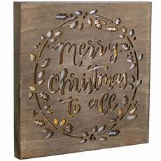 12 quot light up holiday sign merry christmas 17028 craftoutlet com