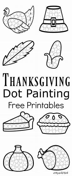 thanksgiving worksheets 18483 thanksgiving dot painting free printables best of and parenting toddler preschool