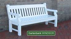 Weiße Gartenbank Holz - englische gartenbank hartholz weiss 25 jahre