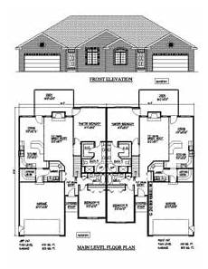 newfoundland house plans nv08704 duplex new ventures custom home designs
