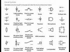 Electronics Symbols Components And Circuit Diagram Reading