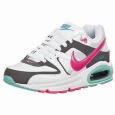 nike sportswear air max command sneaker low white pink
