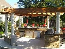 Pergola Kitchen Outdoor