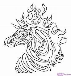 draw so animals coloring pages 17359 dragoart coloring pages tribal tiger colouring pages