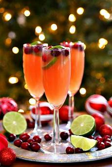 christmas mimosas holiday cocktail recipe happy go lucky