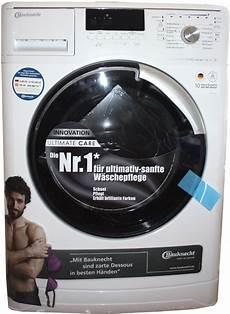 bauknecht waschmaschine wa eco 7 es koch kueche