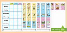 House Charts Free Chore Chart For Home Teacher Made