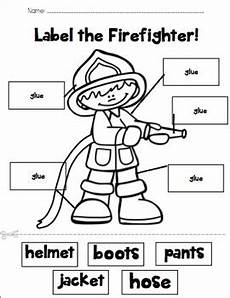 label the firefighter tpt fire prevention week fire safety week firefighter