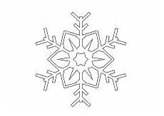 Schneeflocken Malvorlagen Zum Ausdrucken Ausmalbilder Winter Jahreszeit